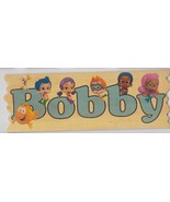 Bubble Guppies Customized Wooden Sign boy - $11.50