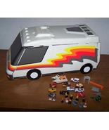 Micro Machine Cars and Motor Home Set Up - $40.00