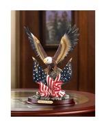 Patriotic Bald Eagle Desk Statue  - $22.00