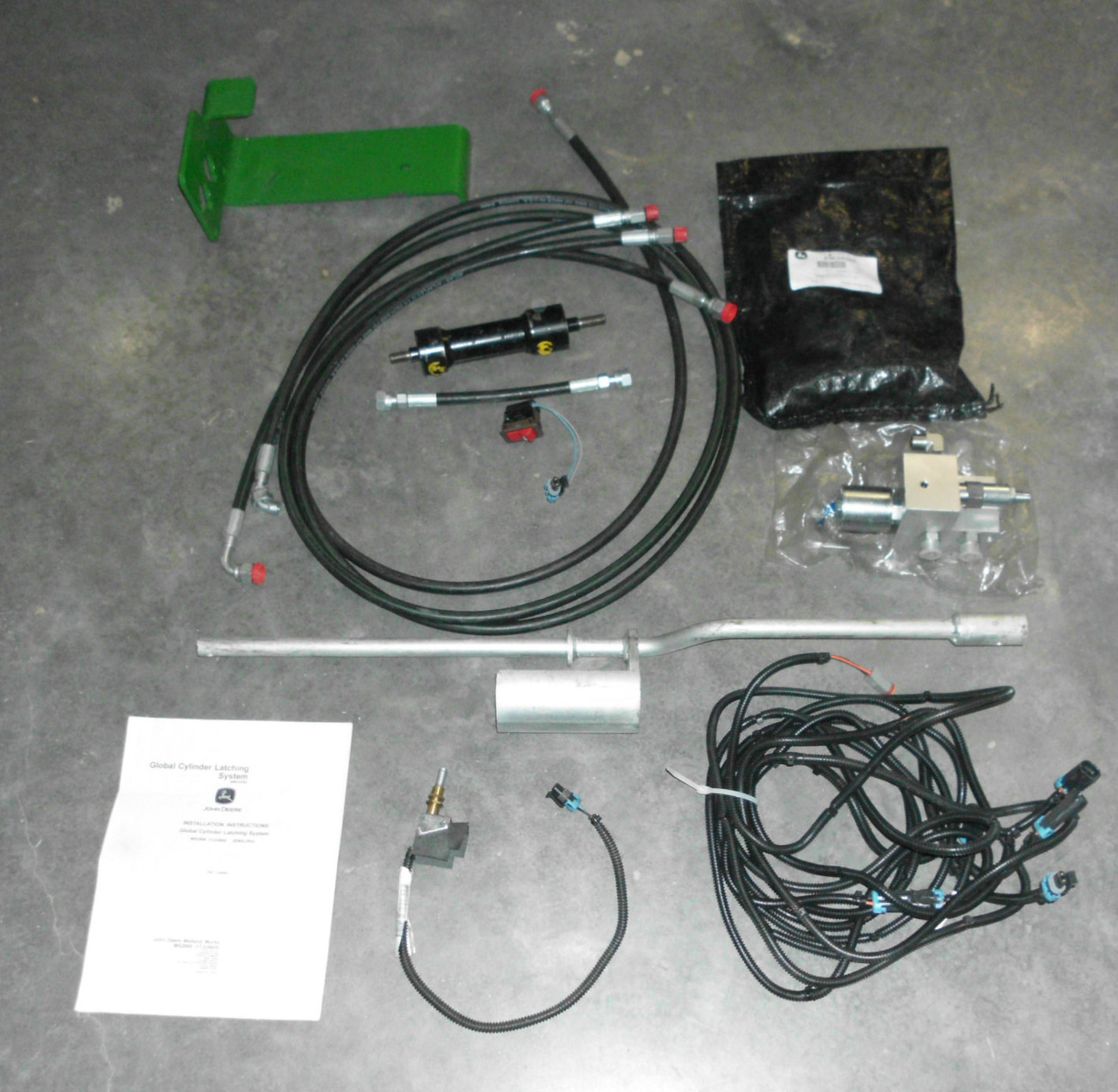 John Deere Global Cylinder Latching System Kit # BW15782 (E4)