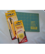 Olfa Rotary Cutter 18mm plus Cutting Mat - $18.95