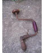 Antique miller falls, stanley brace drill tool - $40.00