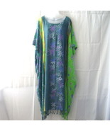 Temptation long one size rayon caftan from Indo... - $20.00