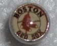 Logo Tongue Ring/Barbell -Boston Red Socks 14 Guage