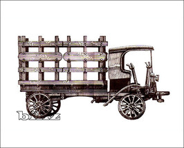 OnTrak HO 5105 - 1909 Autocar Stake Bed Truck -... - $28.50