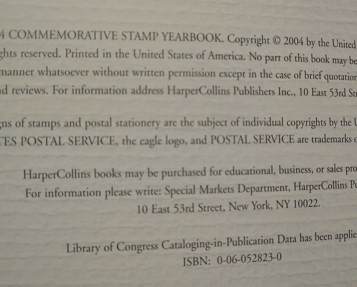 Book_collins_2004_commemorative_stamp_yearbook_united_states_postal_service_usps_hc_05