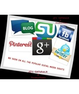I'll Promote 4 items for  6 months  on Social M... - $75.00