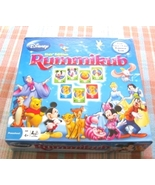 Pressman Disney Kids Edition Rummikub Game In Box - $9.99