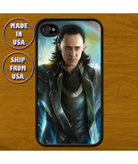 Iphone 4 or 4S Case Loki Avengers YM-A05 Black - $14.99