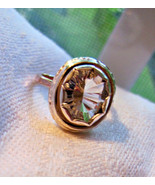 Halo oval  engagement ring 2.90 carat petalite ... - $379.00