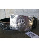 Leegin - Tony Lama Women's Belt, Milan Cross, S... - $52.50