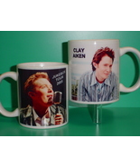 Clay Aiken Jukebox Tour 2 Photo Collectible Mug 02 - $14.95