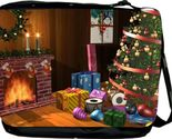 Buy Christmas Fireplace Design Messenger Bag Laptop Bag