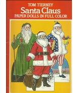 Santa Claus Paper Dolls Full Color St Nicholas ... - $7.93