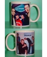 Coldplay 2 Photo Designer Collectible Mug - $14.95