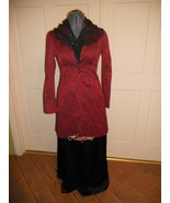 Downton dress gown Victorian Edwardian  costum... - $140.00