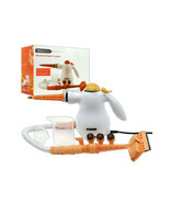 PROlectrix Handheld Steam Cleaner CITRUS TANGERINE- 1000W Steamer