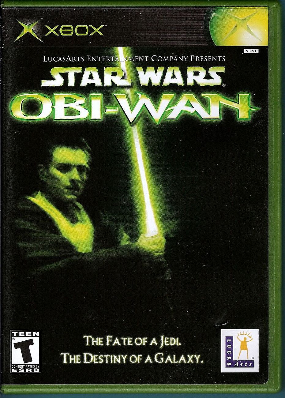 Star Wars Obi-Wan XBox video game 2001