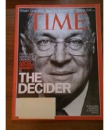 Time MagazineThe Decider Justice Anthony Kenned... - $4.00