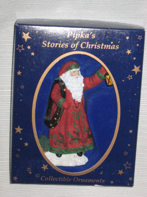 1997 Pipka Stories of Christmas Where's Rudolph? #11406 Ornament w/ Orig. Box