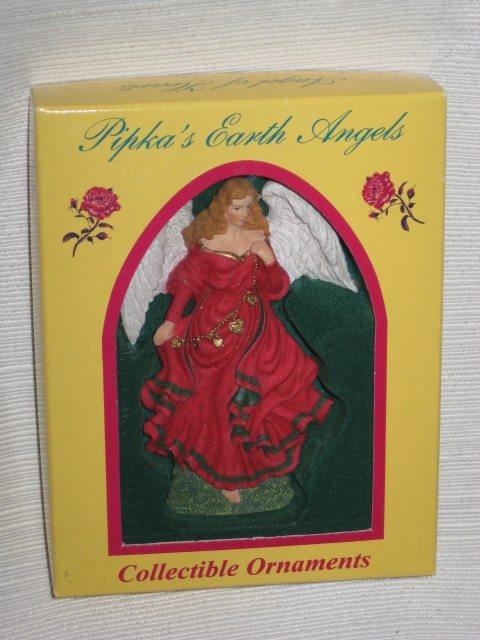 1999 Pipka Earth Angels Angel of Hearts #11500 Ornament w/ Orig. box