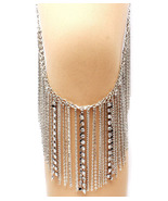 Leg Jewelry Ornate Seam in front or Sides Belt ... - $16.97