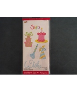 Sizzix Sizzlits Celebrations #2 set nip free sh... - $21.99