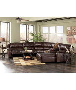 INTRIGUE - CONTEMPORARY GENUINE LEATHER RECLINE... - $2,958.78