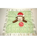 Cocalo Santa Monkey Baby Security Blanket Chris... - $10.99