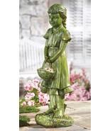 Moss Garden Girl Green Mossy New - $21.50