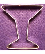 Modern style Martini Glass Cookie Cutter - $5.00