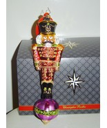 Radko Alizarin Attention Nutcracker Ornament Li... - $49.00