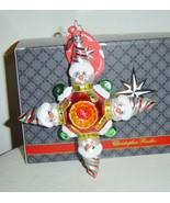 Christopher Radko Snowstar Snow Guys Ornament  - $55.00