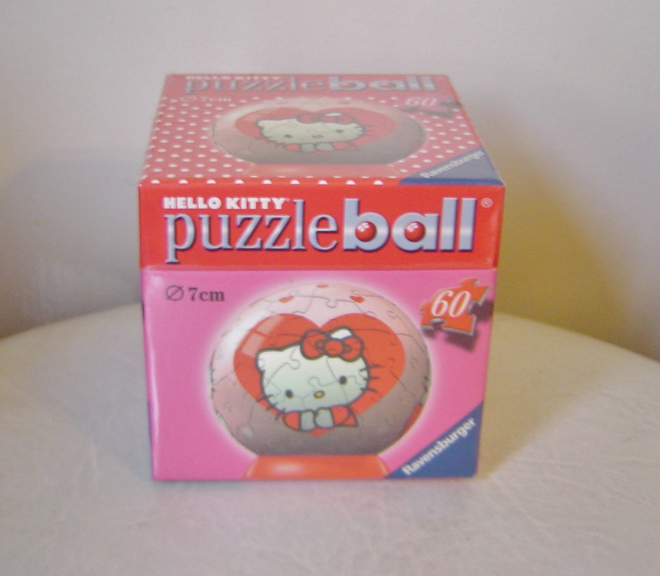 Hello Kitty 3 D Puzzle Ball by Ravensburger With Stand