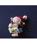 Lot 6 Christmas Jewelry Plastic Pins Earrings C... - $9.99