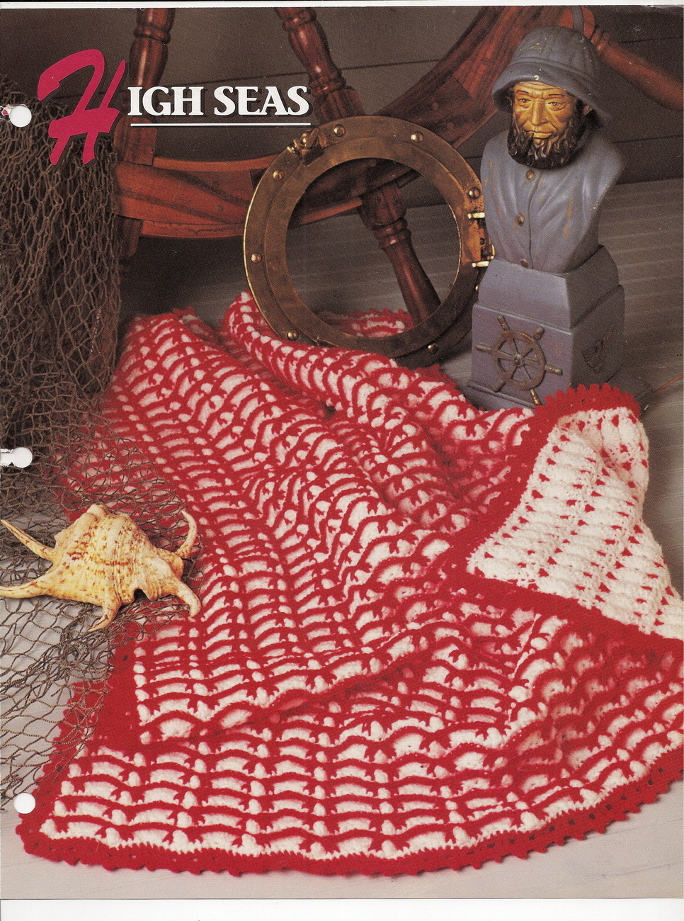 Annies Attic Crochet : High Seas Afghan Crochet Pattern Annies Attic Crochet & Quilt Club ...