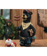 Bear with Hot Dogs Cooking Out For Father's Day - $12.95