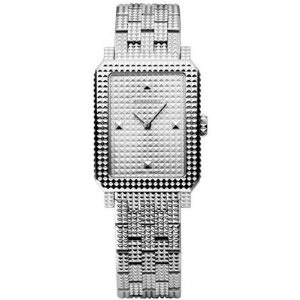 Burberry Watch Silver Pyramid Studded Bracelet Watch Retail  495  Save  198  40