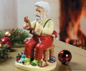Santa Toy Maker  Christmas Tabletop Decoration