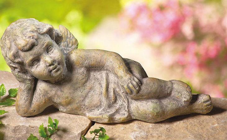 Resting Cherub Will Rest In Your Garden  New