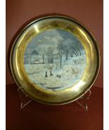 Antique American Naive Folk Art Primative Oil P... - $155.00