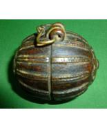 Antique Indian Bronze Betel Nut Box Circa 1860 ... - $110.00