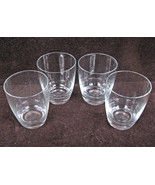 4 EXTRA LARGE LEAD CRYSTAL COCKTAIL DRINK BEVER... - $9.99