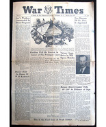 WW2 WAR DEPT TIMES WASHINGTON DC 10-26-45 FINAL... - $7.42