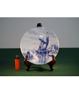 Decorative Blue and White Saxony Delftware - $48.00
