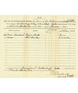 LOT 1865 Civil War Union Cavalry Requisitions  ... - $25.00