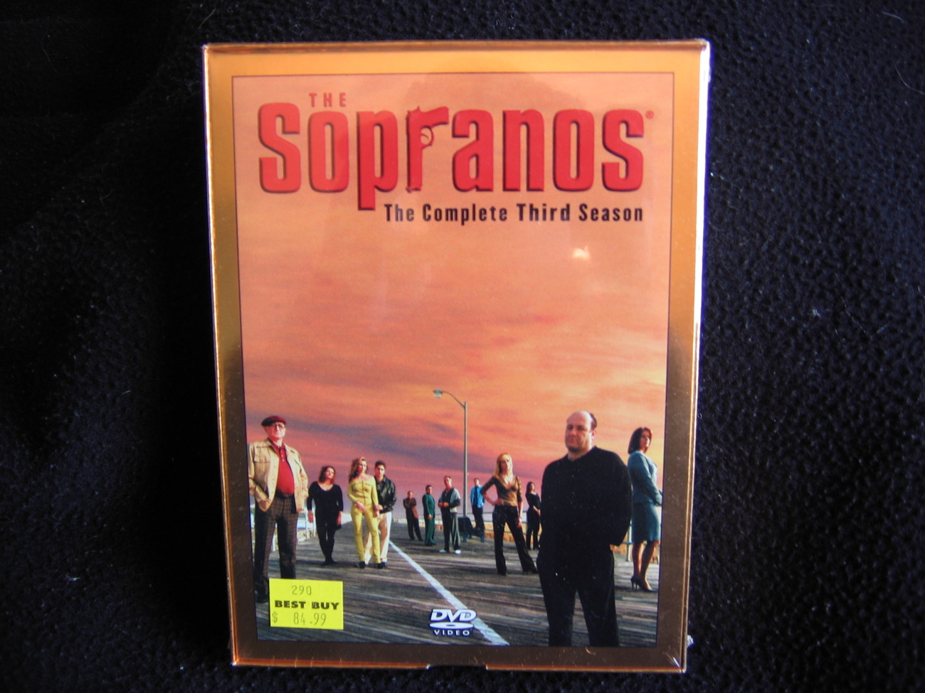 The Sopranos The Complete Third Season DVD