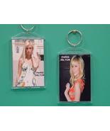 Paris Hilton 2 Photo Designer Collectible Keych... - $9.95