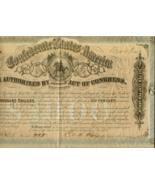 ATTRACTIVE 1864 $1000.00 Confederate Bond with ... - $195.00