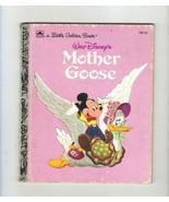 Walt Disney's Mother Goose, A Little Golden Book - $1.50